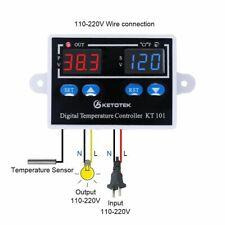 Digital Thermostat Temperature Controller 10A Direct Output Egg Incubator Temp