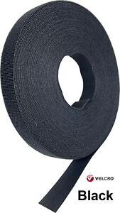 """VELCRO® BRAND ONE-WRAP® TAPE 1"""" X 10 Ft ROLL Made in USA Berry Compliant"""