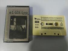 EL ULTIMO DE LA FILA ASTRONOMIA RAZONABLE CASSETTE TAPE SPANISH EDITION EMI 1993