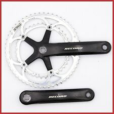 CAMPAGNOLO RECORD CARBON CRANKSET 172.5mm 53-39T SQUARE TAPER 10s SPEED 1ST GEN