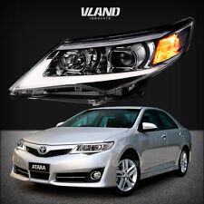 PROJECTOR HEADLIGHTS FIT TOYOTA CAMRY 2012 2013 2014 LED DRL FRONT LIGHT LAMP