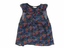 Marks and Spencer Girls' Floral Sleeveless T-Shirts, Top & Shirts (2-16 Years)