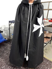 Masonic Knight Malta Tunic Red with White Cross, Knight Templar Gowns, Kt Robes