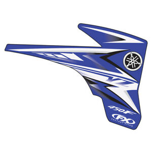 Factory Effex 09 Stock Replica Shroud Graphics for Yamaha YZ250F 450F 06-09