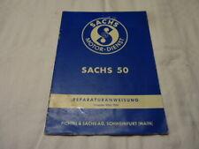 Original Sachs 50 Reparaturanweisung Ausgabe März 1955 Handbuch Anleitung
