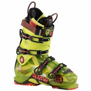 2016 K2 Spyne 130 Green/Yellow 27.5 Mens Ski Boots