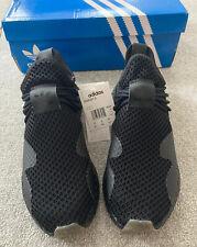 Nuevo Para Hombre Adidas deerupt S Zapatillas Sneakers Casual Entrenamiento De Verano Ltd Negro