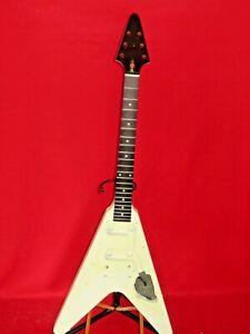 Gibson 1998 USA Classic White Flying V Standard Body & Ebony Neck