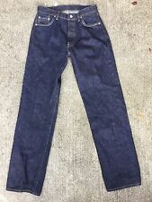 Vintage Levi's REDLINE 501 Jeans 30 X 34 524 Dark Labeled 32 X 36 Selvedge