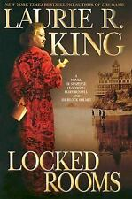 Laurie R. King~LOCKED ROOMS~SIGNED 1ST/DJ~ NICE COPY