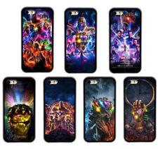 Avengers Endgame Superhero Pattern Rubber Phone Case  For iPhone / Samsung