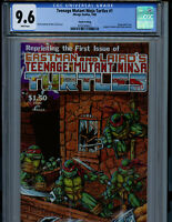 Teenage Mutant Ninja Turtles #1 CGC 9.6 NM+ Mirage Comics 1985 TMNT K6