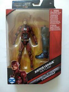 DC Multiverse Justice League Snydercut Flash Figure+ Steppenwolf leg NEW/SEALED!