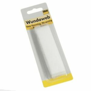 Strong Iron Wundaweb Hemming Web Wonderweb Hem No Sewing Fabric Tape 20mm X 5M
