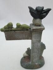"New listing Darice Halloween Fairy Garden Miniature 3"" tall Spooky Sign"