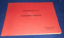 Sussidi didattici b.f.l. Reich AVIAZIONE Ministero meßlehrgang II pratico fiere