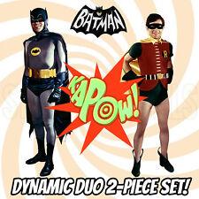 BATMAN AND ROBIN 1966 Dynamic Duo 2-Piece CARDBOARD CUTOUT Standup Standee Set