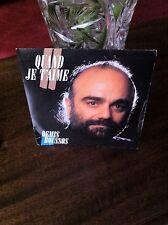 2 disques vinyls 45 tours de Demis ROUSSOS