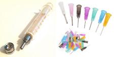 5 Ml 5 Cc Glass Syringe Luer Lock Tip To Slip Tip Blunt Dispensing Needles Usa