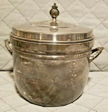 Gorham Glass Lined Ice Bucket Silver EP YC499