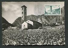 Andorra MK 1956 Santa Coloma CHIESA CHURCH Maximum cartolina MAXIMUM CARD MC cm d2004