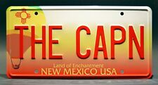 Breaking Bad / Jesse Pinkman's Monte Carlo THE CAPN *Stamped* Prop License Plate