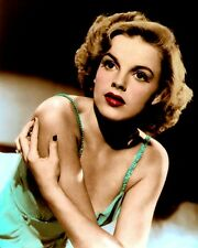 "JUDY GARLAND PRESENTING LILY MARS 1943 ACTRESS 8x10"" HAND COLOR TINTED PHOTO"