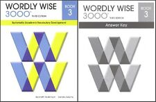 Wordly Wise 3000 Grade 3 SET -- Student and Key NEW  *3rd edition*