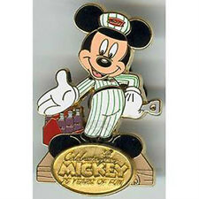 Delivery Man Mickey-DCA 75th Pin Quest Completer Pin