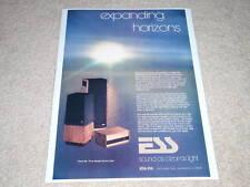 ESS amt-3,amt-1,200 Amplifier Ad,1973, Rare Ad,Article