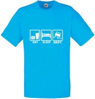 Eat Sleep Drift, Drifting inspired Mens Printed T-Shirt Tee for Drift Lovers