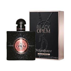 NEW BLACK OPIUM YSL Yves Saint Laurent EDP Womens PERFUME 3 oz 3.0 **SEALED PK**