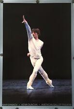 "Baryshnikov, Kenn Duncan, American Ballet Theatre Original Poster 38"" X 26"""