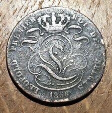 PIECE DE 5 CENTIMES LÉOPOLD PREMIER 1856 (45)