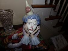 Lladro - 05129 - Clown's Head jester BUST LARGE NO BOX IN WONDERFUL  RETIRED