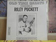 RILEY PUCKETT, OLD TIME GREATS VOL 1 - GHP LP 902