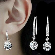 Rhinestone Crystal Ear Studs Earrings Drop Dangle Hoop Earrings Women Jewelry GT