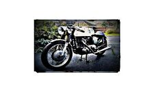 1963 Norton 650Ss Bike Motorcycle A4 Photo Poster