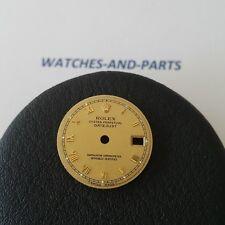 Rolex Datejust Tritium Gold Dial GENUINE ORIGINAL FOR RESTORATION