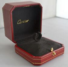 CARTIER ring anillo box caja SCATOLA Boîte Panthère LOVE TRINITY NOUVELLE OEM