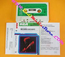 MC RICCARDO COCCIANTE Amare con rabbia 1976 italy RCA TNK1 3004 no cd lp dvd vhs