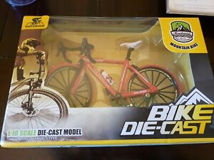 Diecast 1:16 Racing Mountain Bike Bicycle Vehicle Model Collection Toy