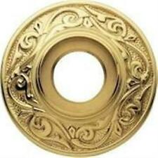 Baldwin Contemporary Single Estate Rosette Polished Brass Lifetime Durable