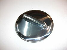 NEW POLISHED STAINLESS STEEL NON LOCKING TWIST PETROL CAP SUITS EH HOLDEN