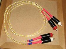 MUNDORF CAVI SEGNALE SILVER GOLD 3 FILI INTRECCIATI 80cm RCA SILVER TIPO BULLET