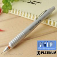 Platinum Mechanical Pencil 0.3mm PRO-USE Silver Aluminum body MSD-1500 Japan Pen