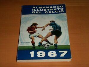 ALMANACCO ILLUSTRATO DEL CALCIO 1967 67 ORIGINALE EDIZIONI CARCANO