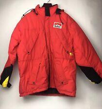 Ski Jacket, Vintage Marlboro Mountain Parka Snorkel Jacket Size XL Hooded Coat