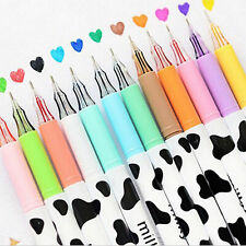 POP hot Colorful Cow Print Gel Pen Cute Pens Student Office Accessories Hot