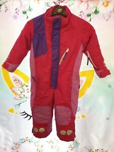 Kozi Kidz All In One Snow Suit Purple & Pink Age 3-4 Years 100 cm